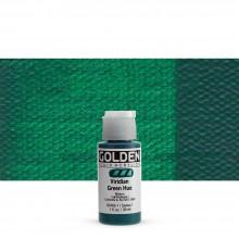 Golden Acrylic : Fluid : 30ml : Viridian Green Hue