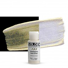 Golden : Fluid Acrylic Paint : 30ml (1oz) : Gold Fine Interference