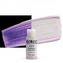 Golden : Fluid : Acrylic Paint : 30ml (1oz) : Violet Fine Interference
