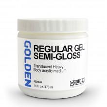 Golden : Regular Gel : Semi Gloss : 473ml