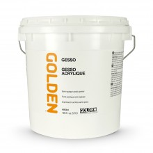 Golden : Acrylic Gesso : 3780ml