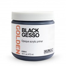 Golden : Black Gesso : 473ml