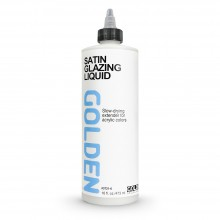 Golden : Glazing Liquid : Satin : 473ml