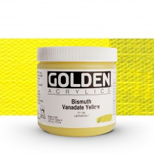 Golden : Heavy Body Acrylic Paint : 473ml Bismuth Vanadate Yellow Ix New