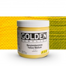 Golden : Heavy Body : Acrylic Paint : 473ml : Benzimidazolone Yellow Medium III