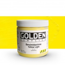 Golden : Heavy Body Acrylic Paint : 473ml : Benzimidazolone Yellow Light III