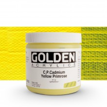 Golden : Heavy Body Acrylic Paint : 473ml : Pure Cadmium Yellow Primrose