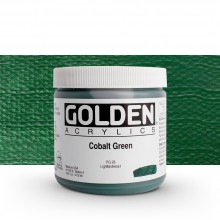 Golden : Heavy Body : Acrylic Paint : 473ml : Cobalt Green