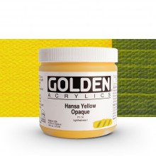 Golden : Heavy Body Acrylic Paint : 473ml : Hansa Yellow Opaque