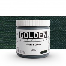 Golden : Heavy Body Acrylic Paint : 473ml : Jenkins Green