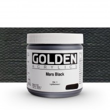 Golden : Heavy Body : Acrylic Paint : 473ml : Mars Black
