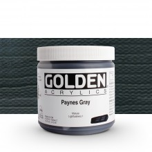 Golden : Heavy Body Acrylic Paint : 473ml : Paynes Grey