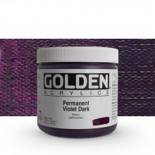 Golden : Heavy Body Acrylic Paint : 473ml : Permanent Violet Dark