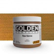 Golden : Heavy Body Acrylic Paint : 473ml : Raw Sienna