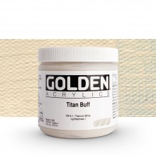 Golden : Heavy Body Acrylic Paint : 473ml : Titan Buff