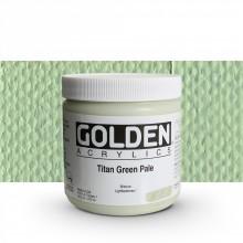 Golden : Heavy Body Acrylic Paint : 473ml : Titan Green Pale I