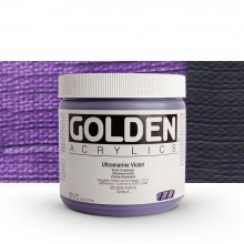 Golden : Heavy Body Acrylic Paint : 473ml : Ultramarine Violet