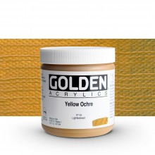 Golden : Heavy Body Acrylic Paint : 473ml : Yellow Ochre