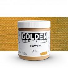 Golden : Heavy Body Acrylic Paint : 473ml : Yellow Ochre