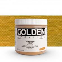 Golden : Heavy Body : Acrylic Paint : 473ml : Yellow Oxide