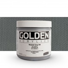 Golden : Heavy Body Acrylic Paint : 473ml : Neutral Grey No.4