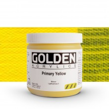 Golden : Heavy Body Acrylic Paint : 473ml : Primary Yellow