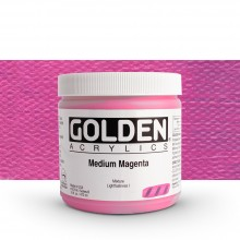 Golden : Heavy Body Acrylic Paint : 473ml : Medium Magenta