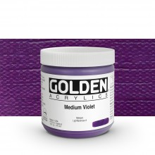 Golden : Heavy Body Acrylic Paint : 473ml : Medium Violet