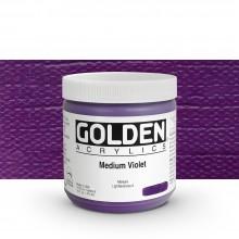 Golden : Heavy Body Acrylic Paint : 473ml : Medium Violet