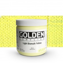 Golden : Heavy Body : Acrylic Paint : 473ml : Light Bismuth Yellow IV