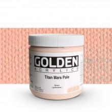 Golden : Heavy Body : Acrylic Paint : 473ml : Titan Mars Pale I