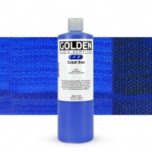Golden : Fluid : Acrylic Paint : 473ml (16oz) : Cobalt Blue