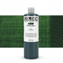 Golden : Fluid : Acrylic Paint : 473ml (16oz) : Jenkins Green