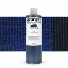 Golden : Fluid : Acrylic Paint : 473ml (16oz) : Paynes Grey