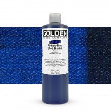 Golden : Fluid Acrylic Paint : 473ml (16oz) : Phthalo Blue Red Shade