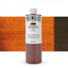 Golden : Fluid Acrylic Paint : 473ml (16oz) : Quinacridone / Nickel Azo Gold
