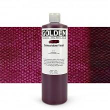 Golden : Fluid Acrylic Paint : 473ml (16oz) : Quinacridone Violet