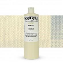 Golden : Fluid Acrylic Paint : 473ml (16oz) : Titan Buff