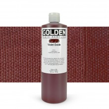 Golden : Fluid Acrylic Paint : 473ml (16oz) : Violet Oxide