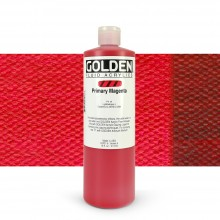 Golden : Fluid : Acrylic Paint : 473ml (16oz) : Primary Magenta
