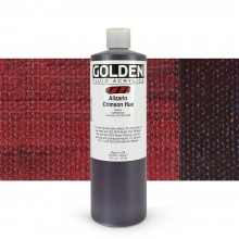 Golden Acrylic Paint : Fluid : 473ml : Alizarin Crimson Hue