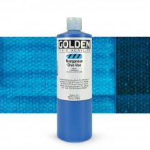 Golden : Fluid Acrylic Paint : 473ml (16oz) : Manganese Blue Hue