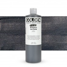 Golden : Fluid : Acrylic Paint : 473ml (16oz) : Micaceous Iron Oxide Iridescent