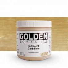 Golden : Heavy Body Acrylic Paint : 473ml : Gold Fine Iridescent