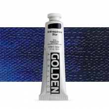 Golden : Heavy Body Acrylic Paint : 60ml : Anthraquinone Blue