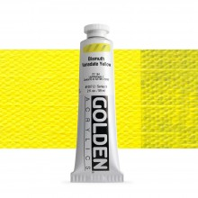 Golden : Heavy Body Acrylic Paint : 60ml : Bismuth Vanadate Yellow Ix New