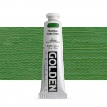 Golden : Heavy Body : Acrylic Paint : 60ml : Chromium Oxide Green