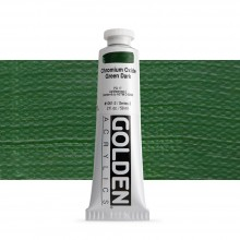 Golden : Heavy Body Acrylic Paint : 60ml : Chromium Oxide Green Dark Iii New