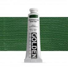 Golden : Heavy Body : Acrylic Paint : 60ml : Chromium Oxide Green Dark III New