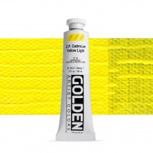 Golden : Heavy Body Acrylic Paint : 60ml : Pure Cadmium Yellow Light